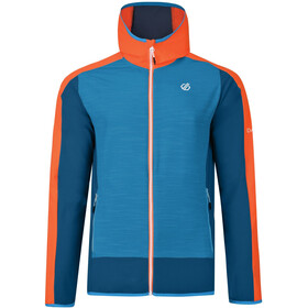 Dare 2b Appertain II Veste Softshell Homme, atlantic blue/blaze orange